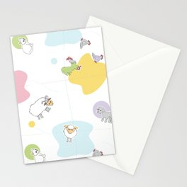 Little Farm 2 Stationery Cards