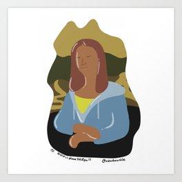 Mona-shle-sa Art Print