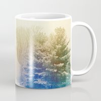 snow Mugs featuring Snow by Olivia Joy StClaire