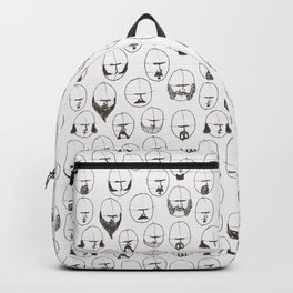 Moustaches and Beards Backpack