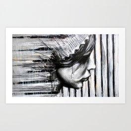 Bars - by Jay Turner Art Print