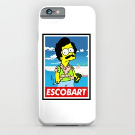 Escobart iPhone Case