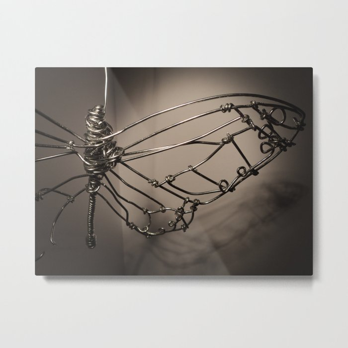 Broken Butterfly  Metal Print