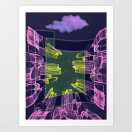 Stellar Area 01-08-16 Art Print