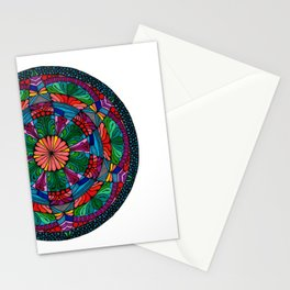 Mandala Daisy Stationery Cards