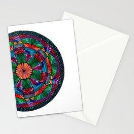 Mandala Daisy Stationery Cards
