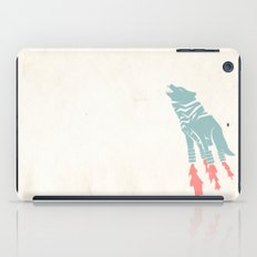 Robot Wolf-Tiger from Outer Space iPad Case