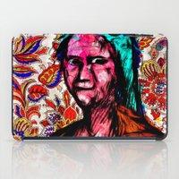 mona lisa iPad Cases featuring Mona Lisa by Alec Goss