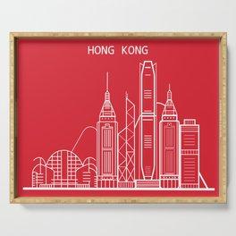Hong Kong Serving Tray