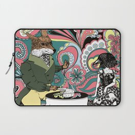 Crow Serie :: The Crow & The Fox (after Lafontaine's Fable) Laptop Sleeve