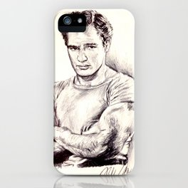 Young Marlon Brando iPhone Case