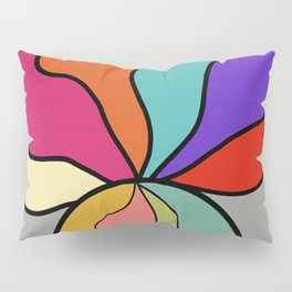 Abstract Ball With Waves Inside and Out Pillow Sham