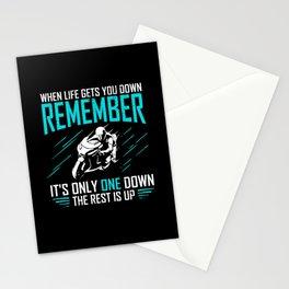 Motorbike Rider Motorcycle Biker Motorcyclist Gift Stationery Cards