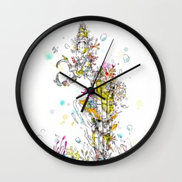 Sunken Roots Wall Clock