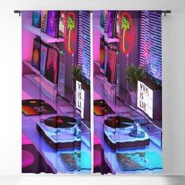 Vinyl is Life Blackout Curtain