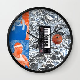 Carmelo Anthony & Grimes Blind Date Rainforest Cafe Leftovers 2014 Wall Clock