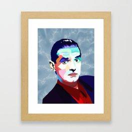 Portrait of Hans Holzel (Falco) Framed Art Print