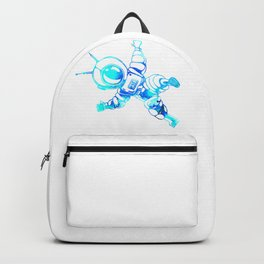 Astronaut Cosmonaut Spaceman Galaxy Space Backpack