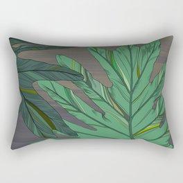 Cece (Philodendron) Rectangular Pillow