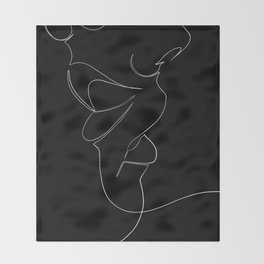 bisou Throw Blanket
