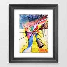 Overthink Framed Art Print