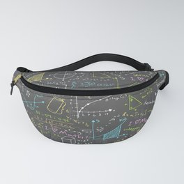 Math Lessons Fanny Pack