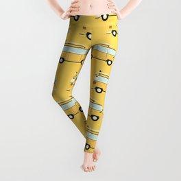 yellow van Leggings