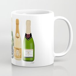 Champagne Bottles Coffee Mug