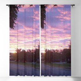 Cotton Candy Clouds Blackout Curtain