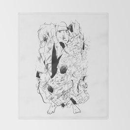 My blanket of shame Throw Blanket