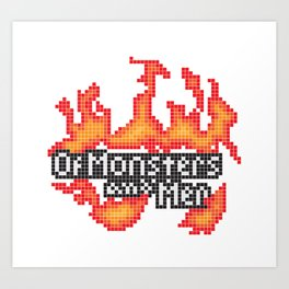 Of Monsters and Men Official Logo Art Print