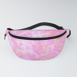 Pink Fantasy Marble Fanny Pack