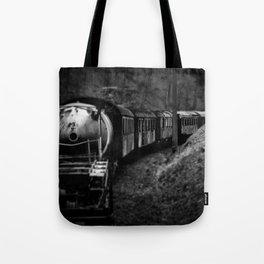 Spooky Train Tote Bag
