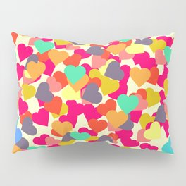 Rain of hearts Pillow Sham