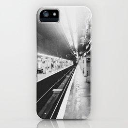 Panoramic Subway Bronx New York iPhone Case