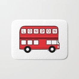 London Bus Bath Mat