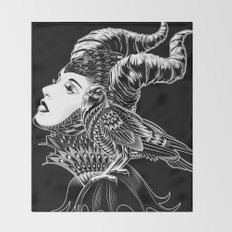 Maleficent Tribute Throw Blanket