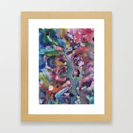 Nature Abstraction Framed Art Print