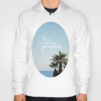 palms Hoodies featuring Palms by hayleyhigson