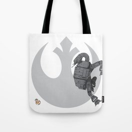 Droid Eek! (grey) Tote Bag