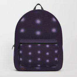 """Polka Dots Degraded & Purple shade of Grey"" Backpack"