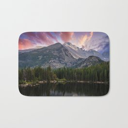 The Colorado Rockies Bath Mat