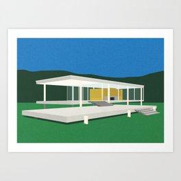 Farnsworth House Art Print