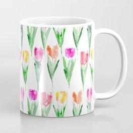 Watercolor tulips from Holland Coffee Mug