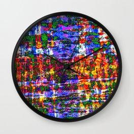 DOUGLAS FIR BARK STATURATED ABSTRACT Wall Clock