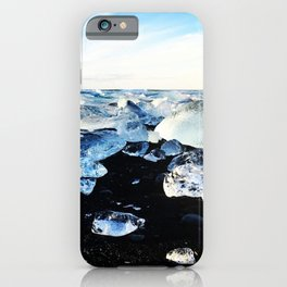 Diamond beach, Iceland 2 iPhone Case