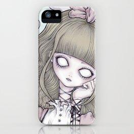 Creepy Little Alice iPhone Case