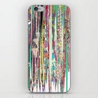 fringe iPhone & iPod Skins featuring Fringe Benefits by Lynsey Ledray