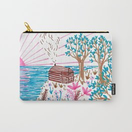 Cliff Top Cabin Carry-All Pouch