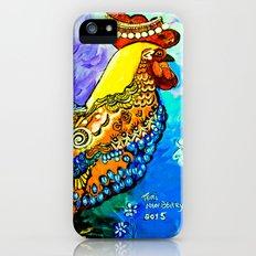 Crazy Chicken iPhone SE Slim Case